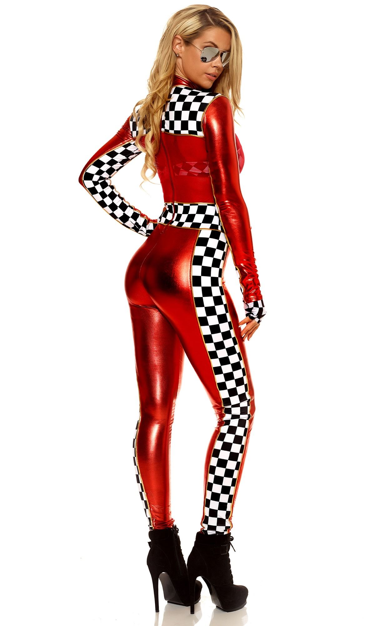 Adult Racer First Place Woman Costume | $78.45 | The ...
