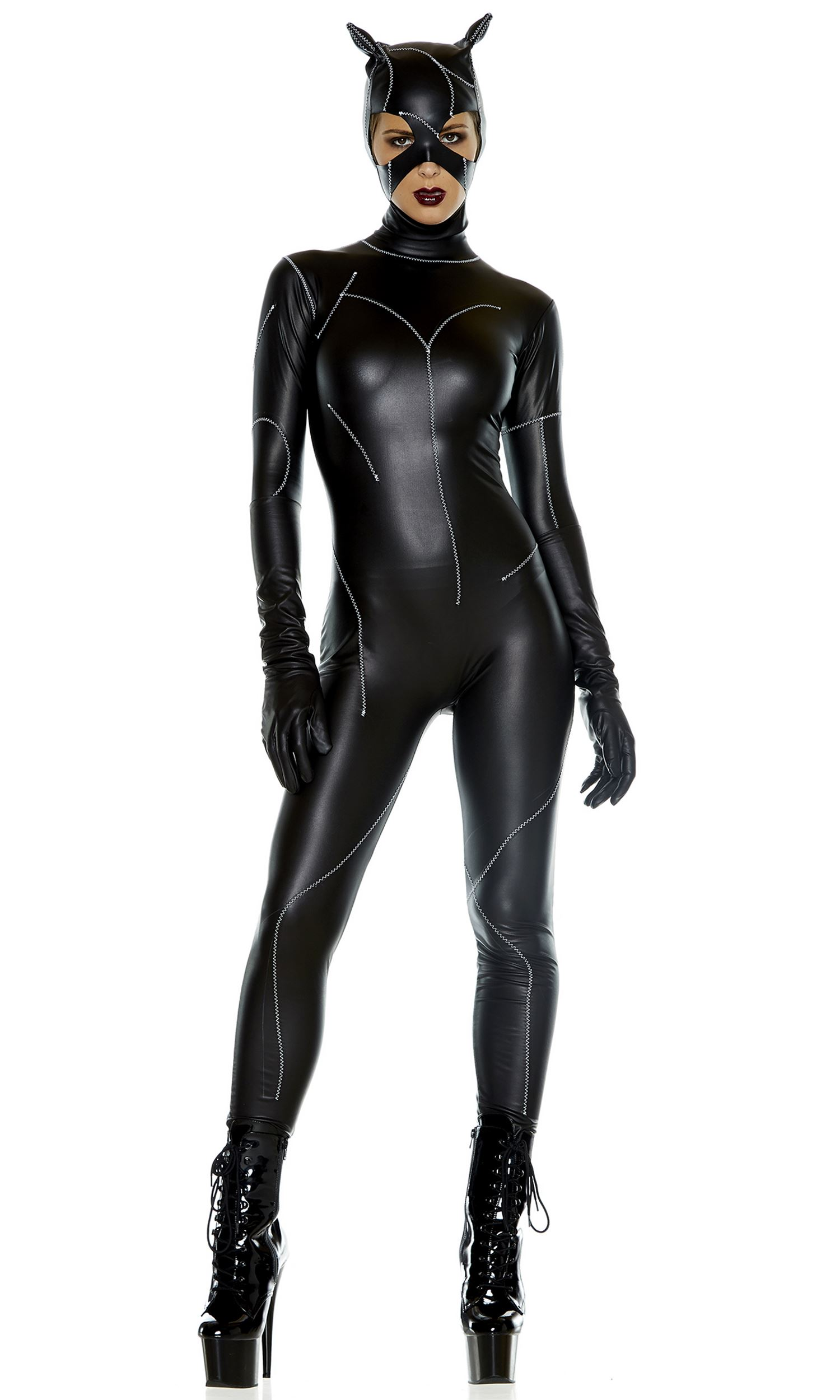 hot fetish groupsex with skin tight zentai spandex girls