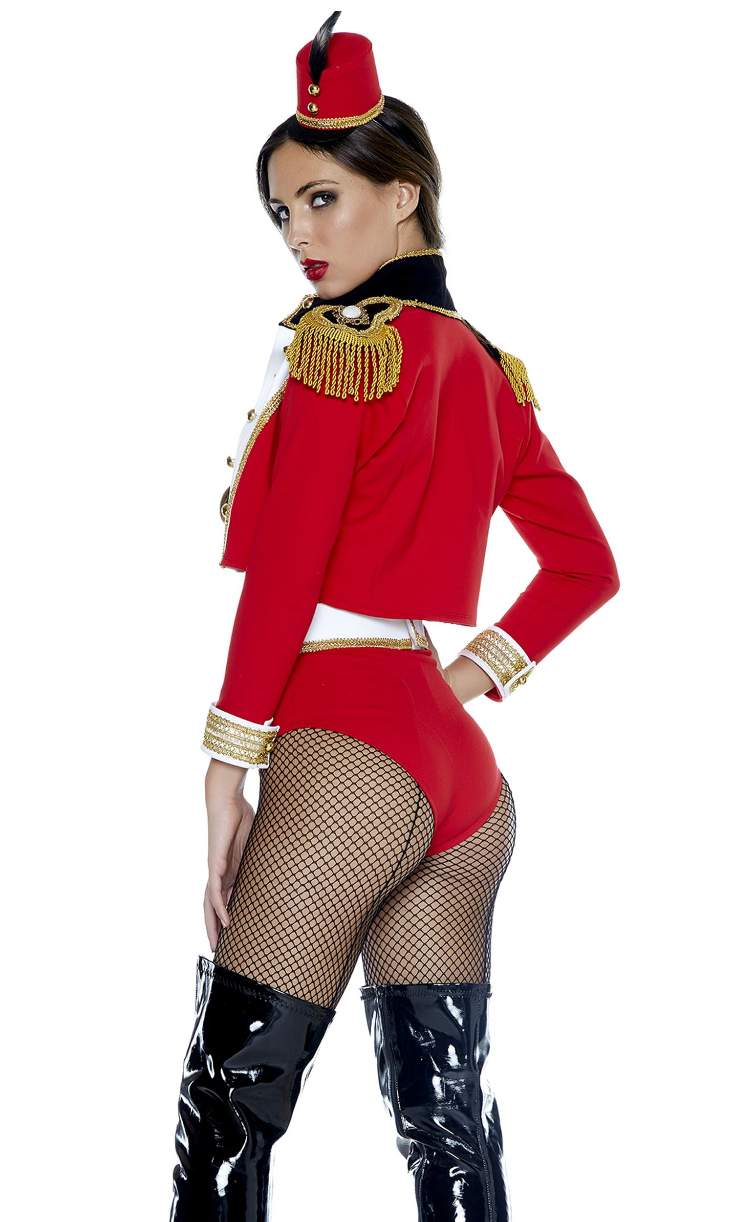 adult toy soldier woman costume
