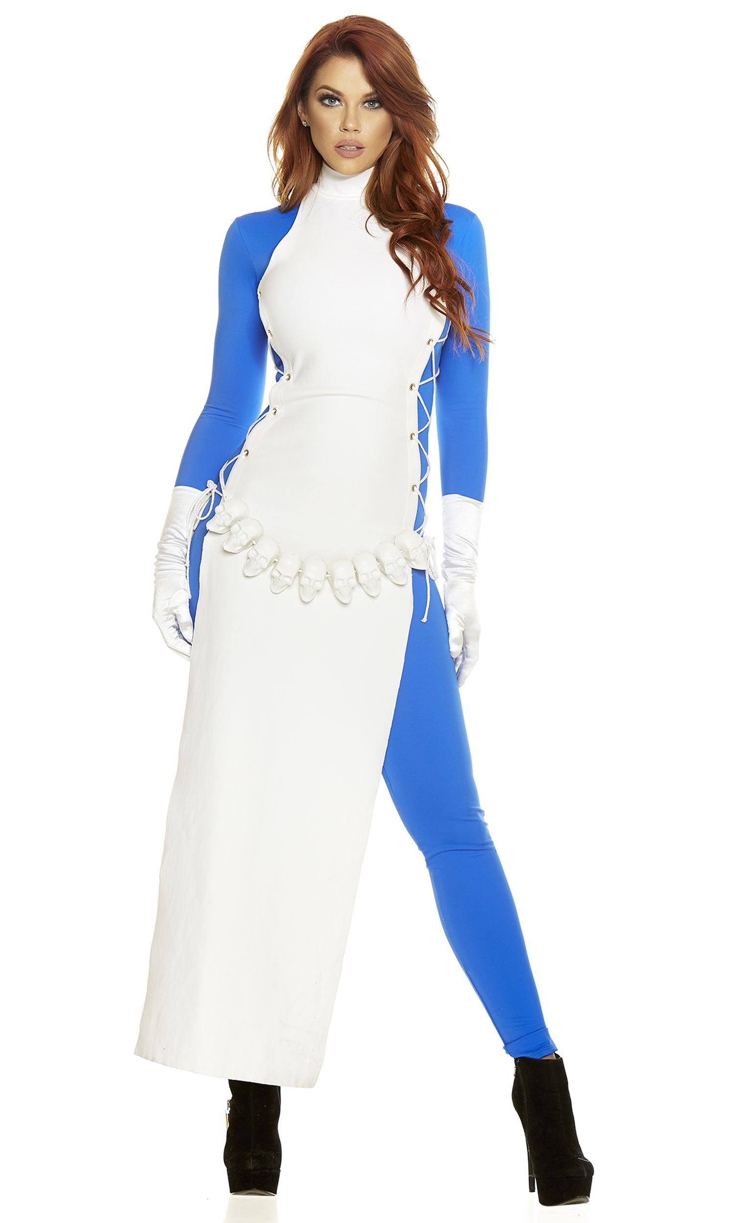 Adult Comic Book Villain Woman Costume