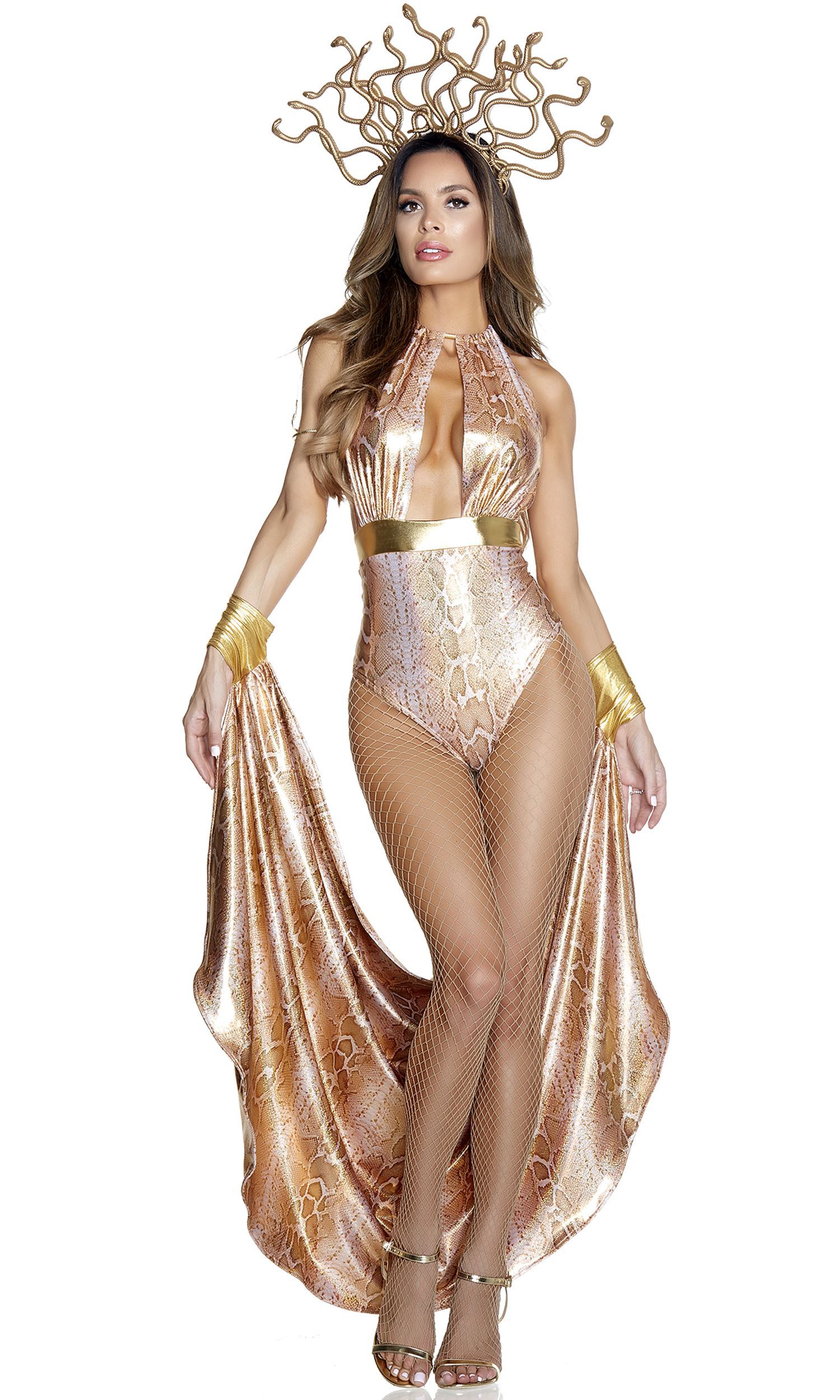 Fr Medusa Sassy Woman Halloween Costumes