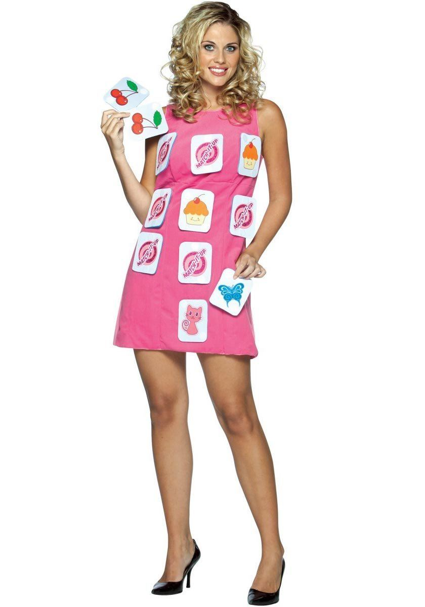 Board game costumes for women make a match interactive game halloween