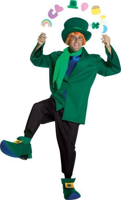Lucky Charms Men Deluxe Costume
