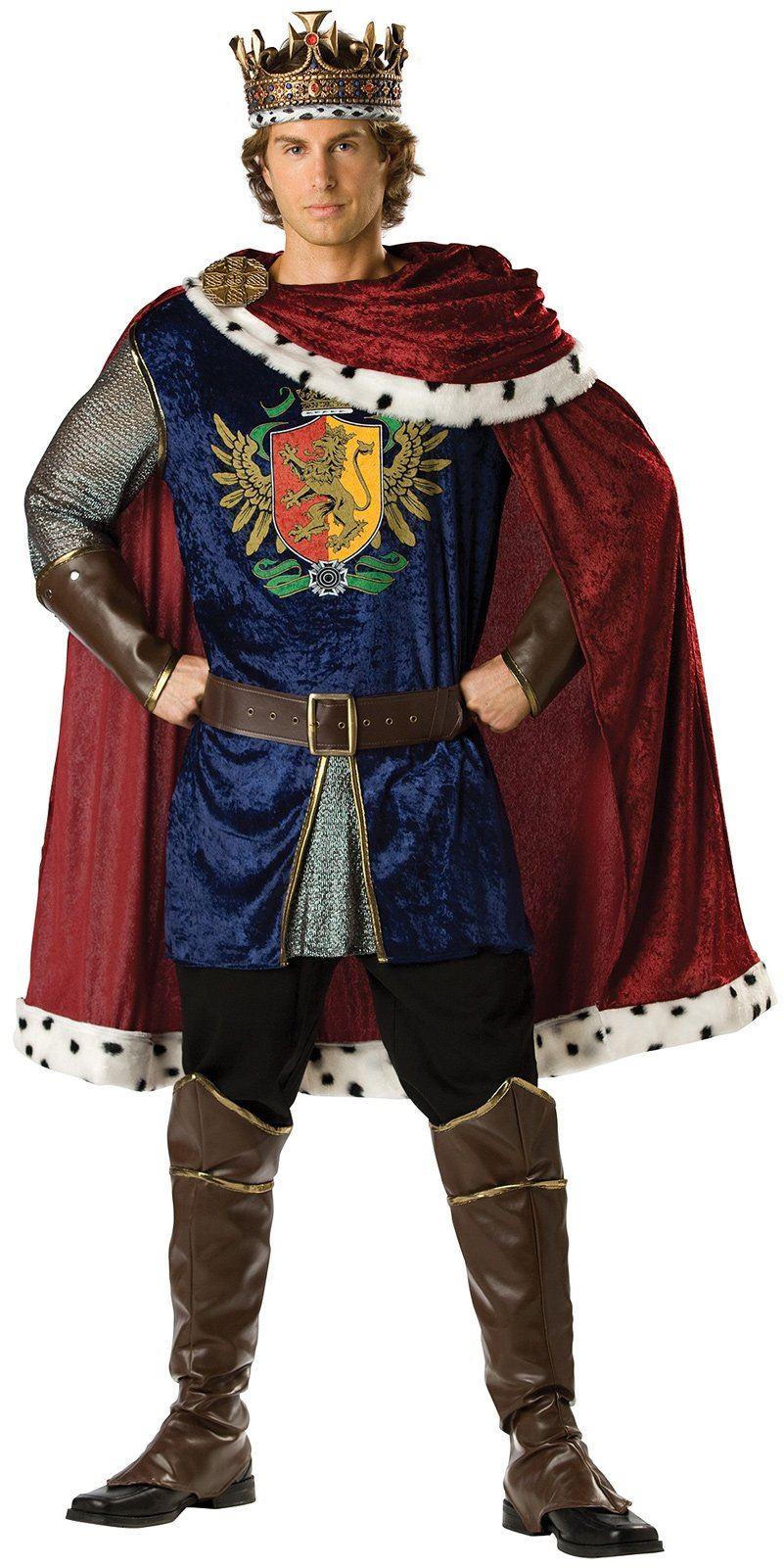 deluxe noble king men costume
