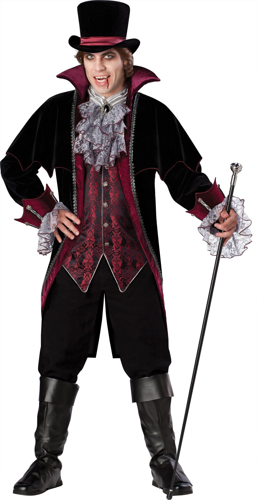 adult vampire of versailles men deluxe costume