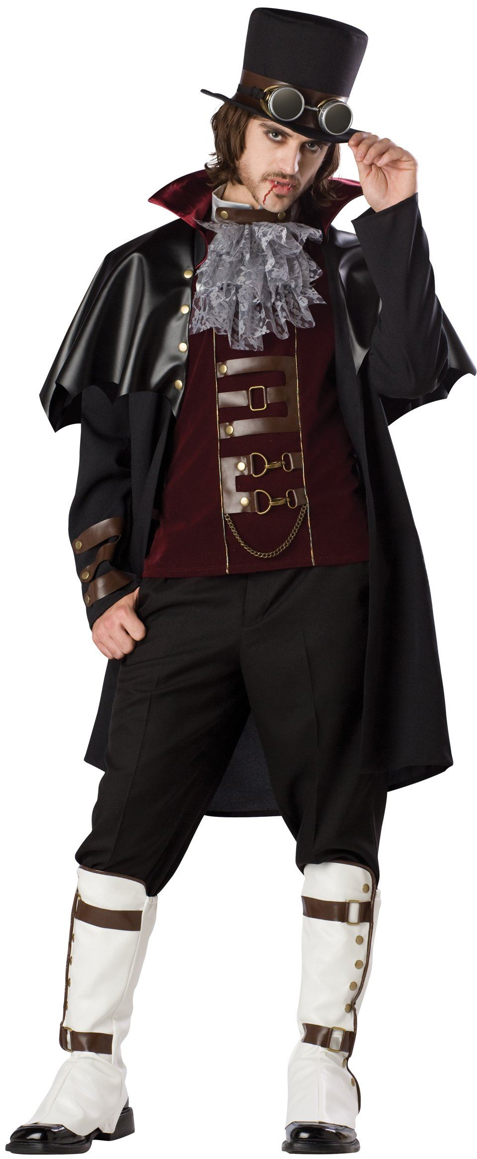 Adult Men Steampunk Victorian Vampire Costume 152 99 The