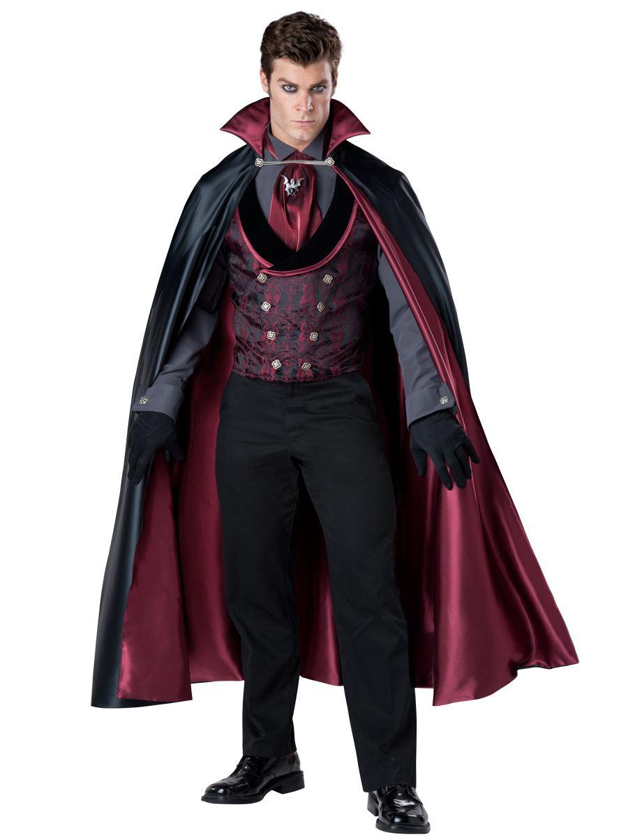 Adult Midnight Count Deluxe Men V&ire Costume ...  sc 1 st  The Costume Land & Adult Midnight Count Deluxe Men Vampire Costume | $123.99 | The ...