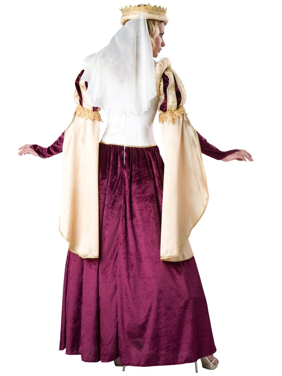 adult renaissance princess woman queen costume 16599