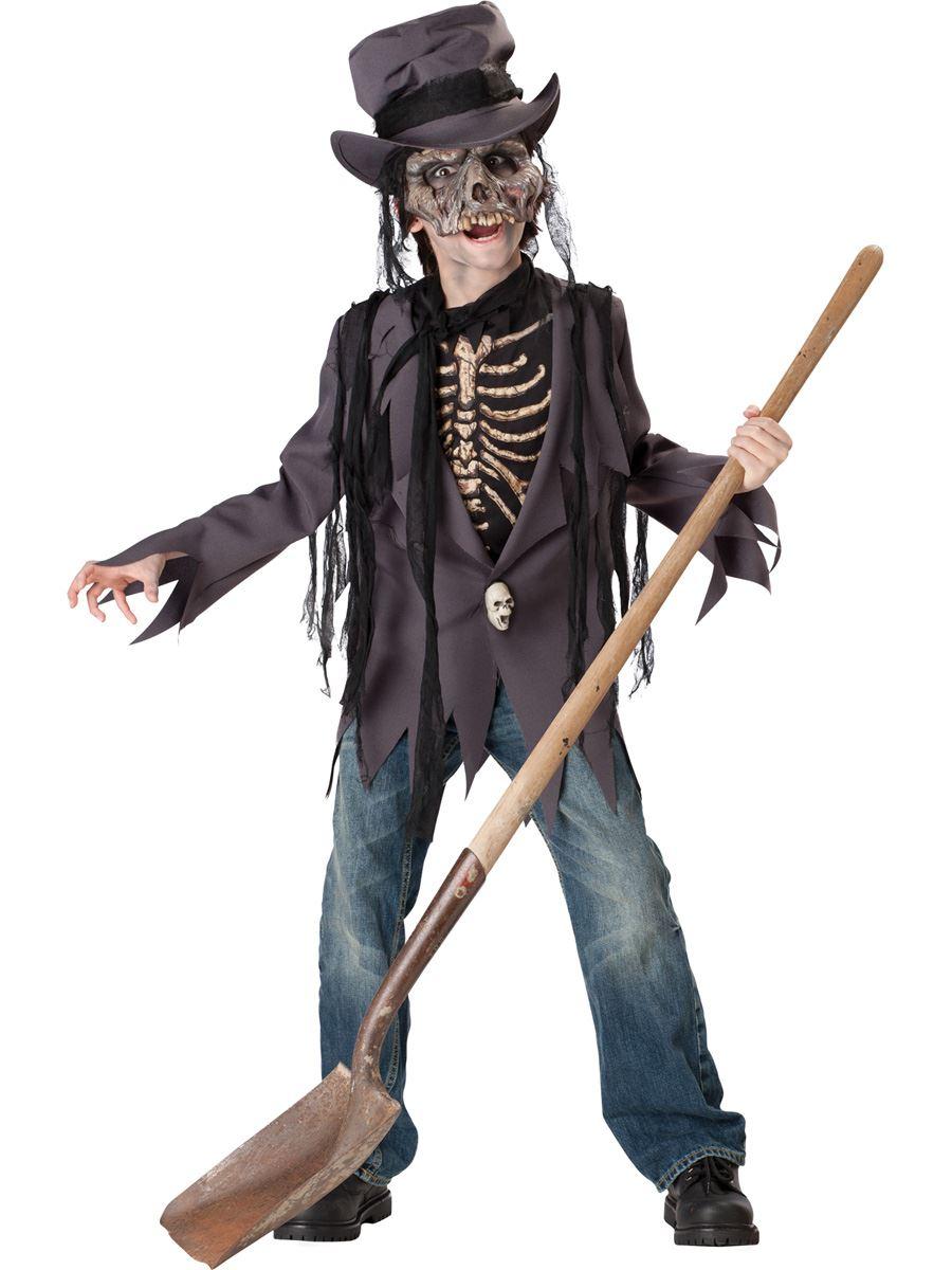 Костюм для мальчиков на хэллоуин своими руками