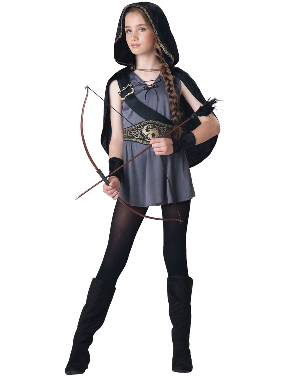 Hooded Huntress Girls Halloween Costume  $49.99  The Costume Land