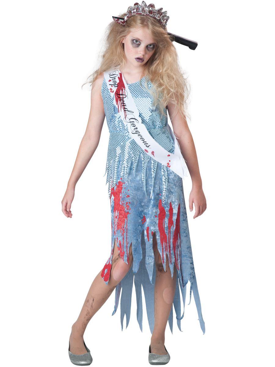 4a2e40569b77d Kids Homecoming Horror Girls Costume