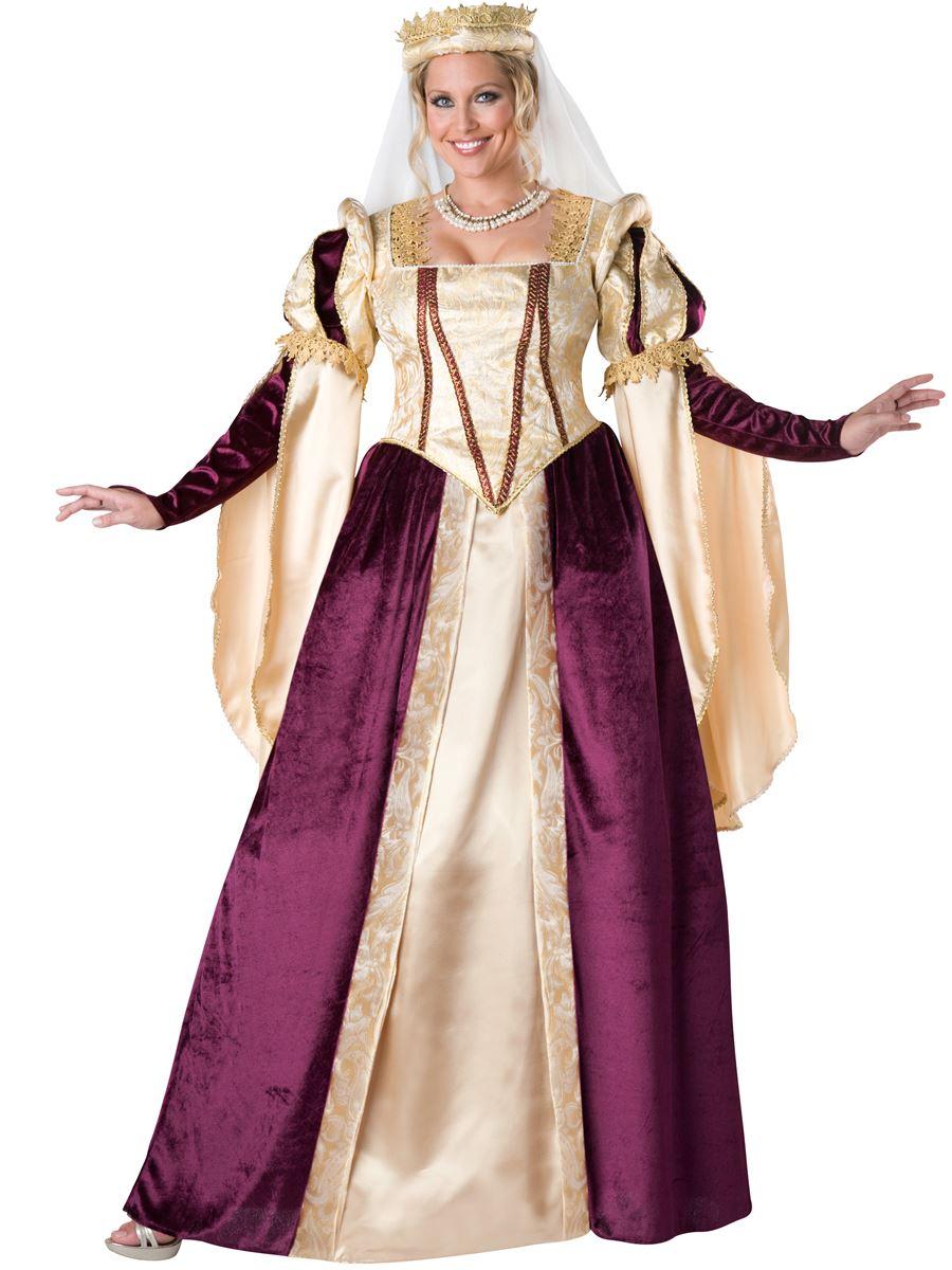 Adult Renaissance Princess Plus Size Woman Costume