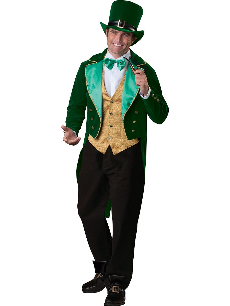 Lucky Leprechaun Mens Deluxe Costume