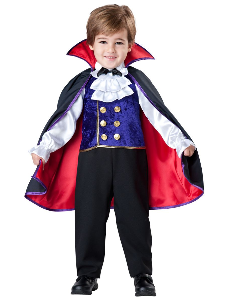 Halloween Vampire Costume Kids.Kids Vampire Boys Toddler Deluxe Costume