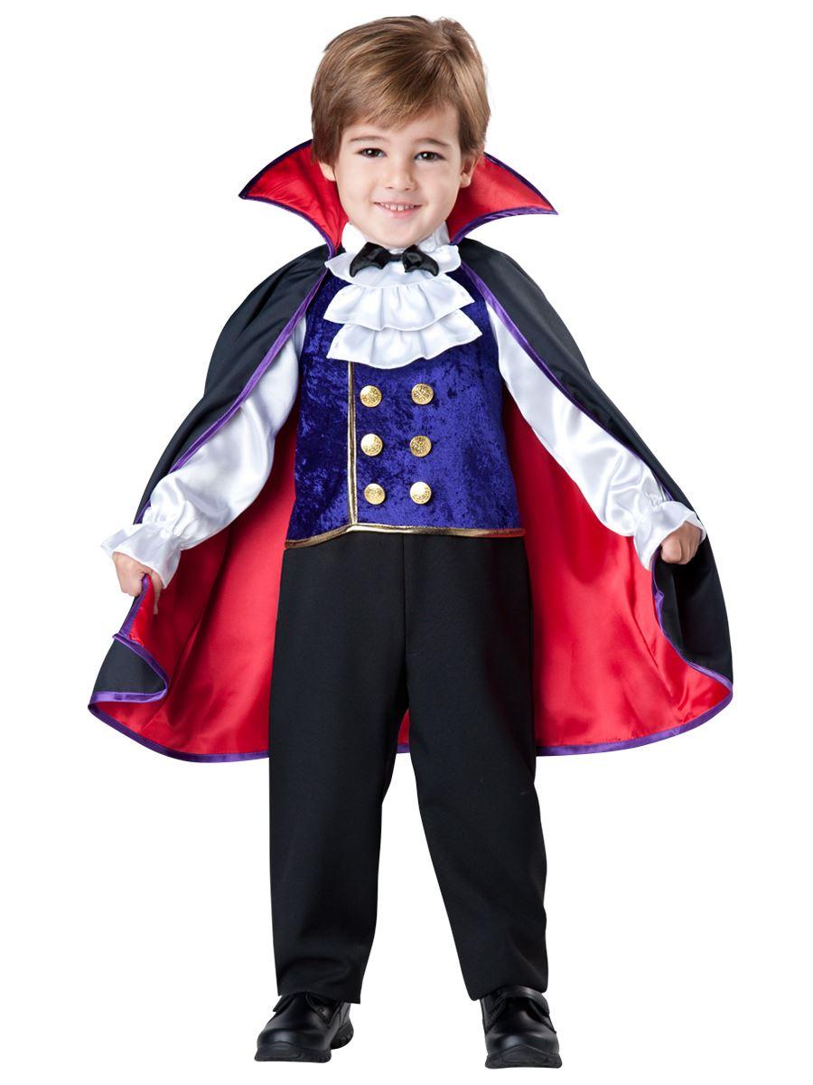 kids vampire boys toddler deluxe costume