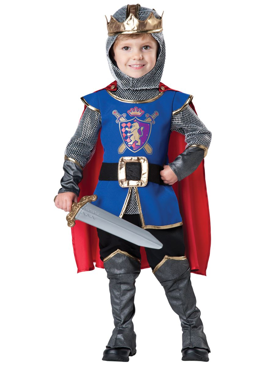 Kids Knight Deluxe Boys Toddler Costume ...  sc 1 st  The Costume Land : kids armour costume  - Germanpascual.Com