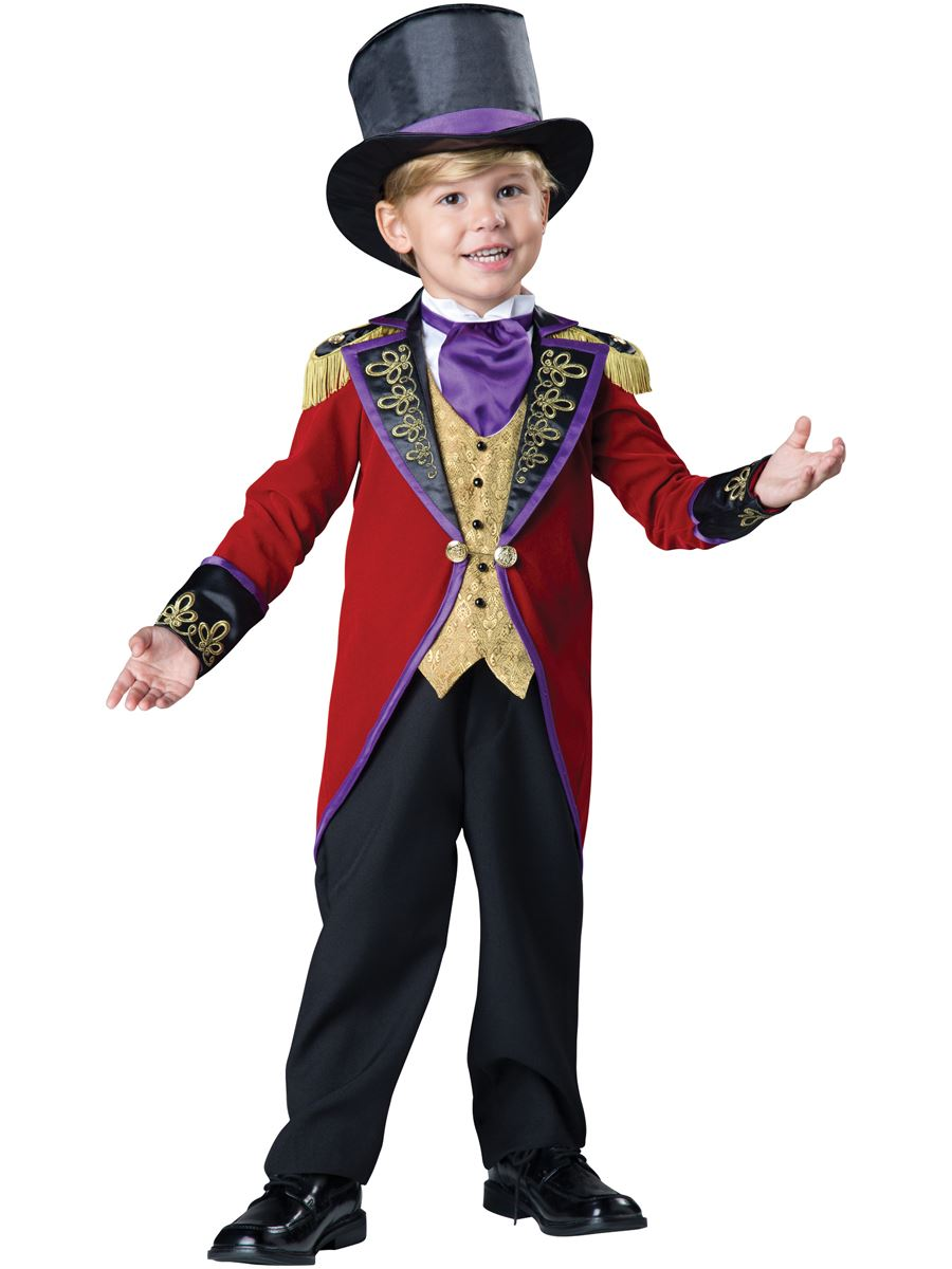 Kids Ringmaster Deluxe Boys Toddler Costume | $62.99 | The Costume ...