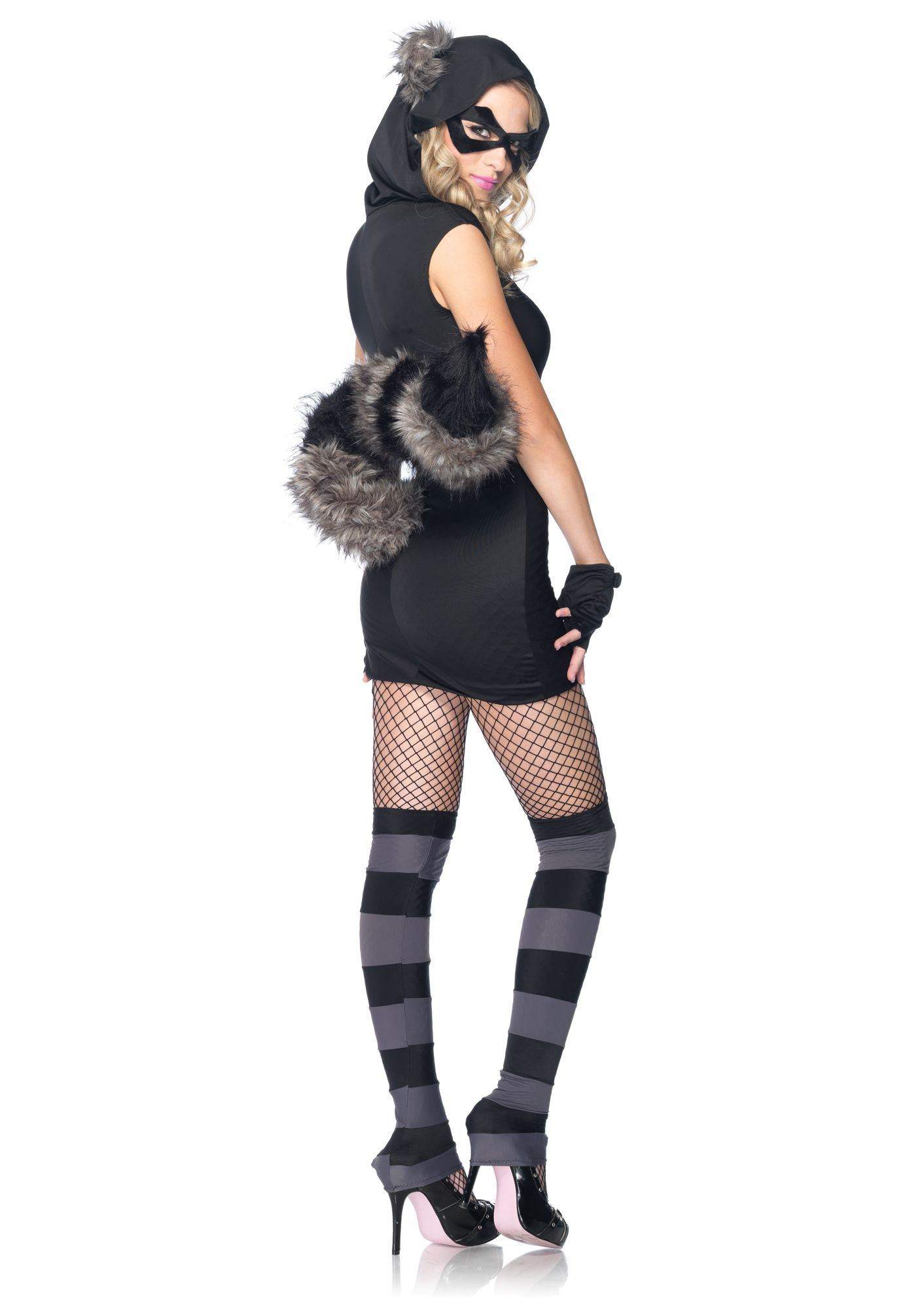 Adult Risky Raccoon Woman Costume | $68.99 | The Costume Land
