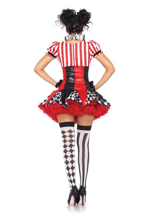 ... Adult Sexy Harlequin Clown Women Circus Costume  sc 1 st  The Costume Land & Adult Sexy Harlequin Clown Women Circus Costume | $36.99 | The ...