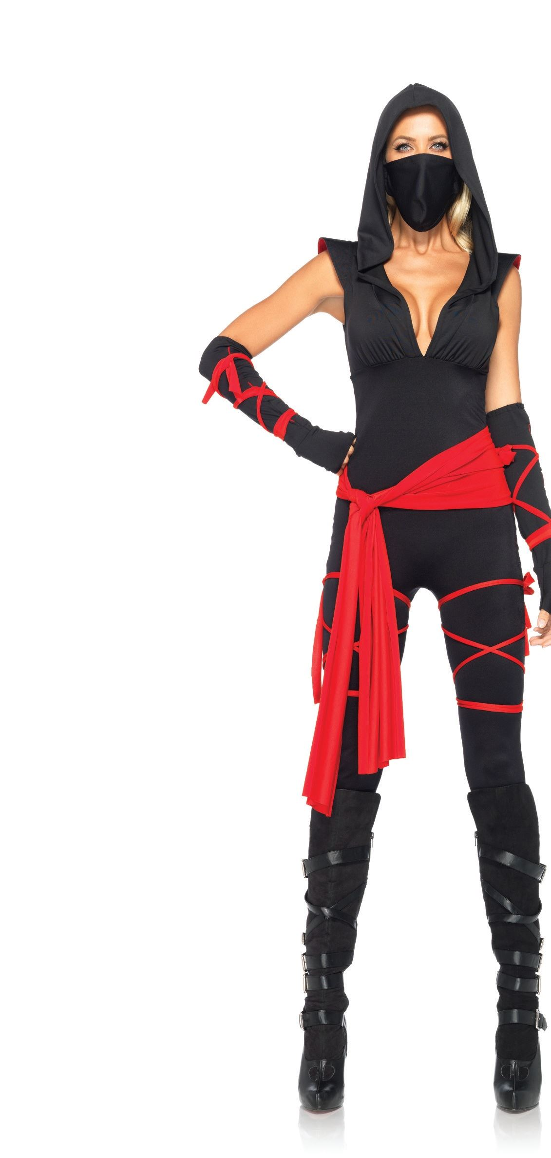 Deadly Ninja Women Halloween Costume  $28.99  The Costume Land