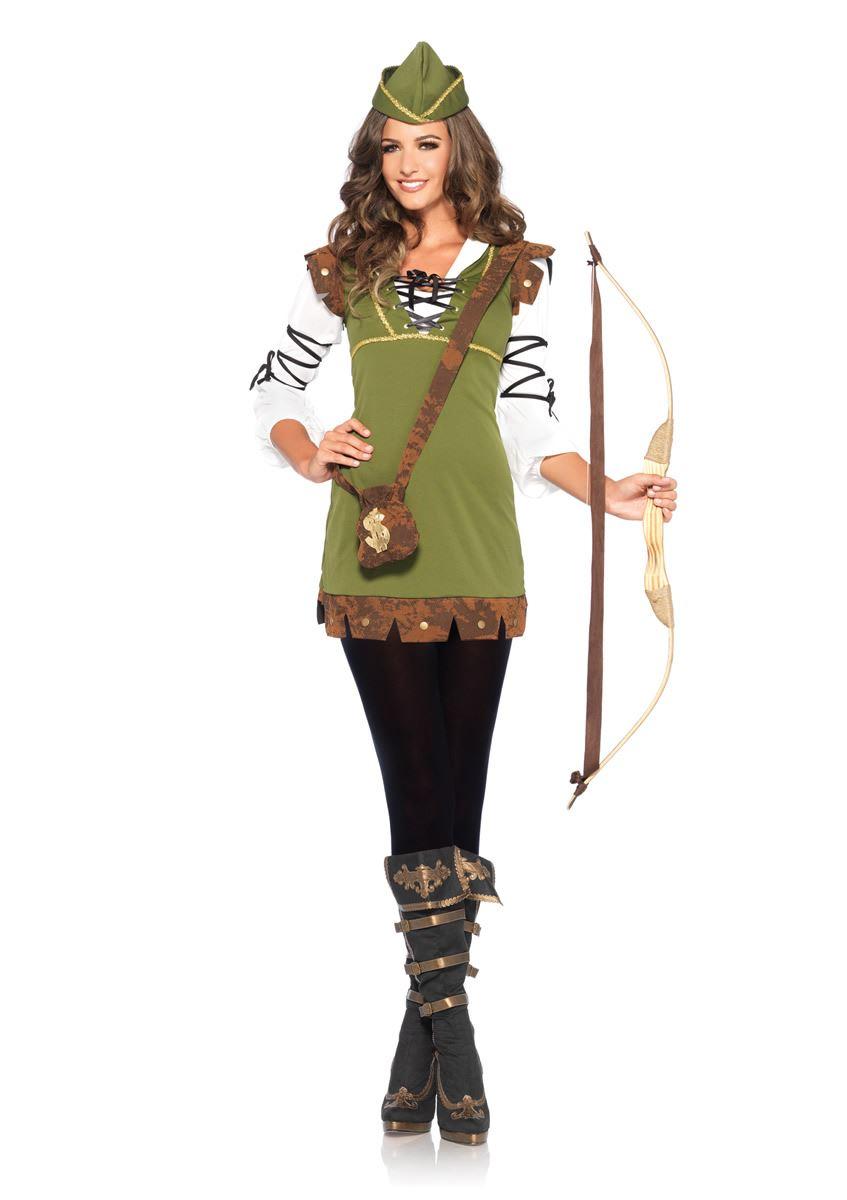 Adult Classic Robin Hood Woman Costume  sc 1 st  The Costume Land & Adult Classic Robin Hood Woman Costume | $22.99 | The Costume Land