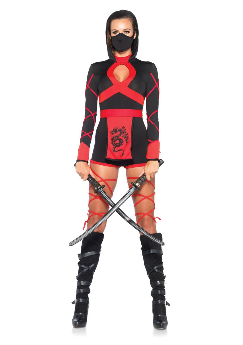 Adult Dragon Ninja Woman Costume | $44.99 | The Costume Land