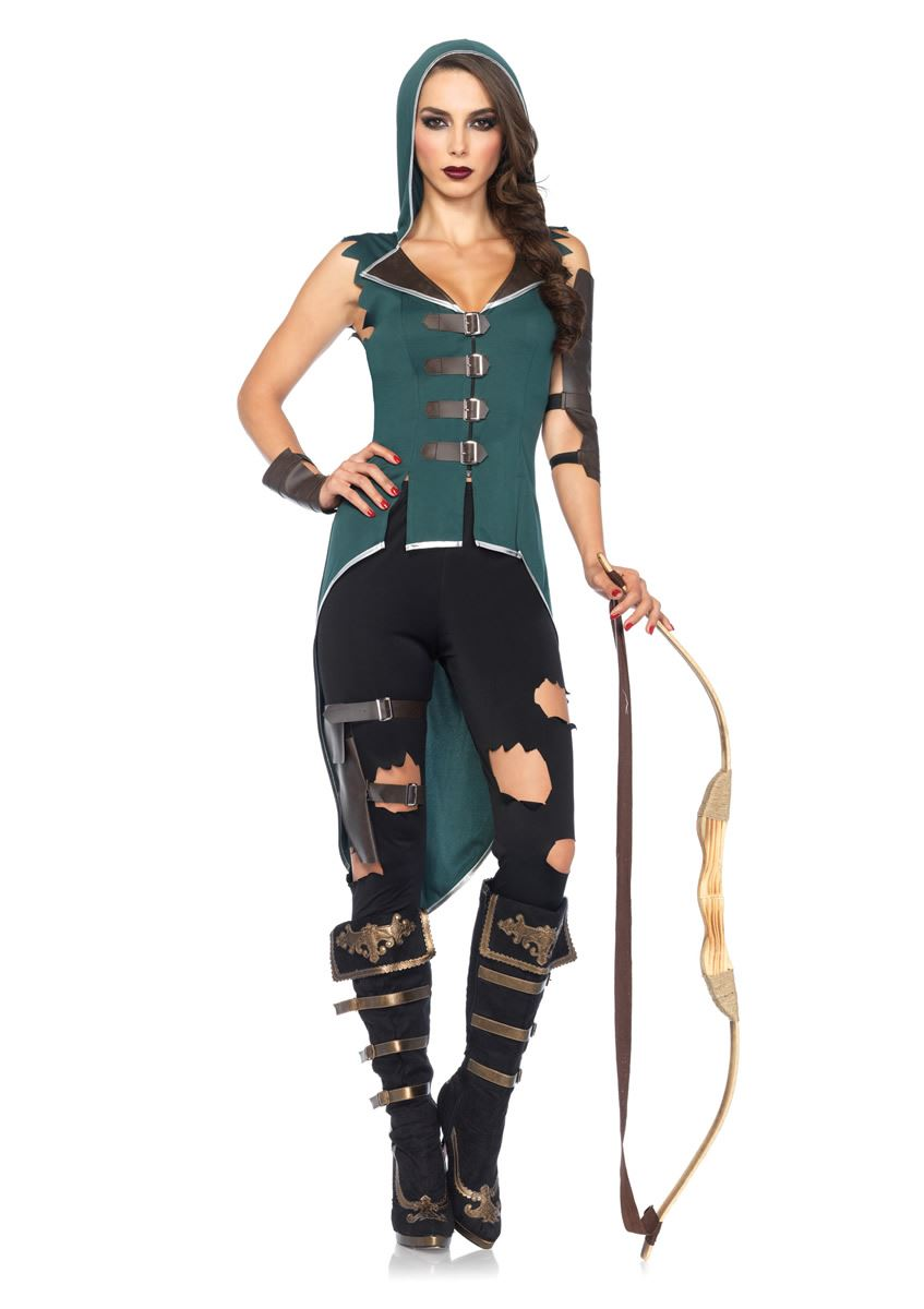 Adult Rebel Robin Hood Woman Costume ...  sc 1 st  The Costume Land & Adult Rebel Robin Hood Woman Costume | $33.99 | The Costume Land
