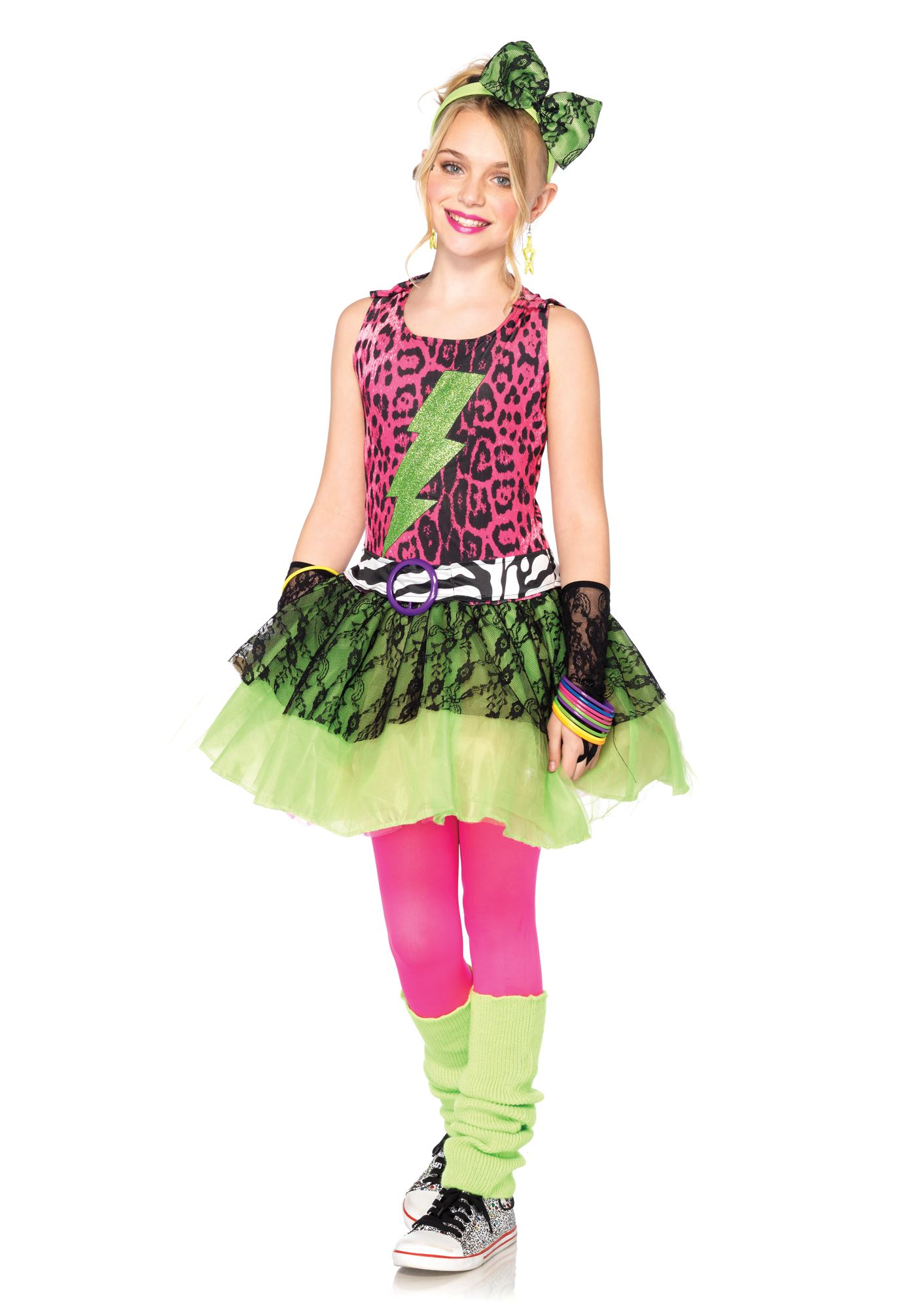 The 80s Fashion For Girls Girls Totally s Amy Costume