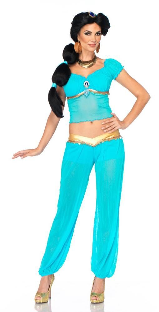 Disney Princess Jasmine Woman Sassy Arabian Halloween Costume  $44.99 ...