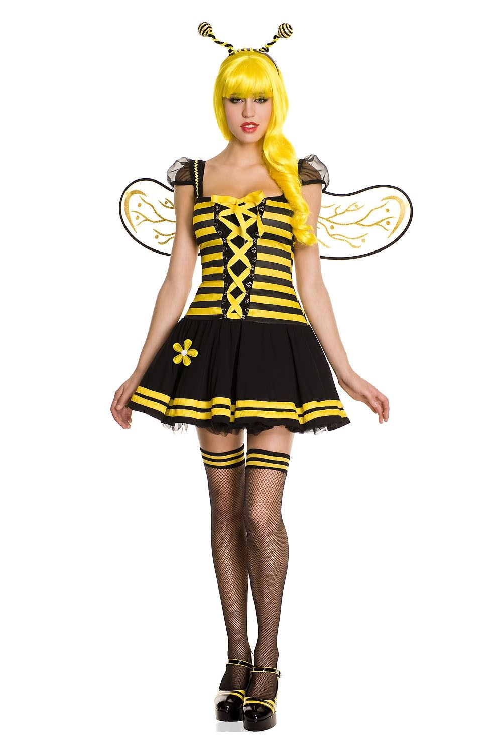 Adult Honey Bee Woman Costume ...  sc 1 st  The Costume Land & Adult Honey Bee Woman Costume   $46.99   The Costume Land