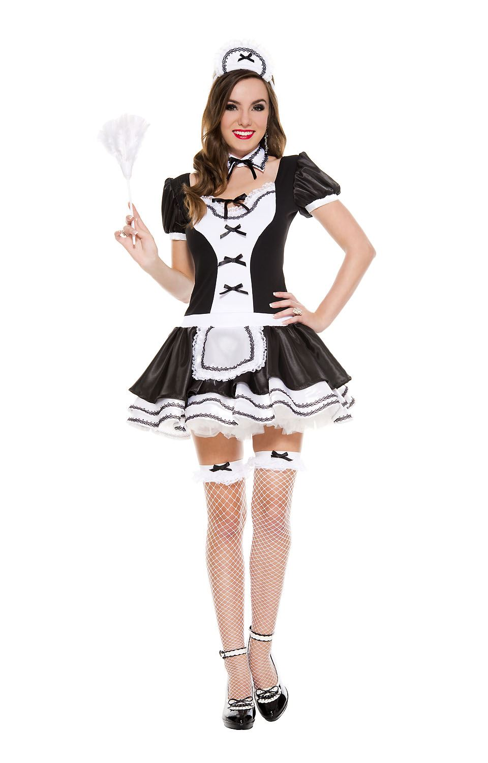 Adult Majestic French Maid Woman Costume | $47.54 | The ...