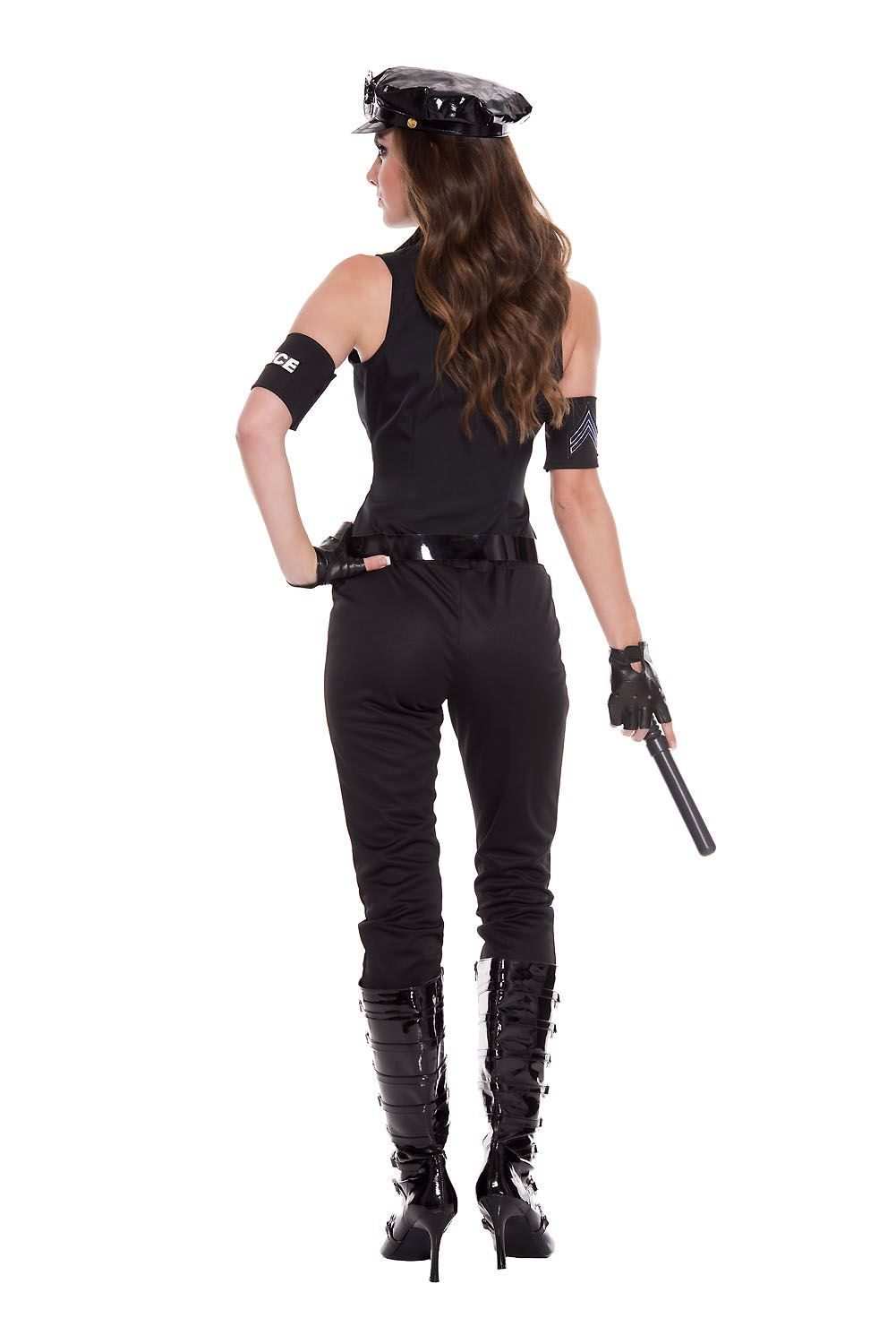 Adult Cops Bombshell Woman Police Costume 49 99 The Costume Land