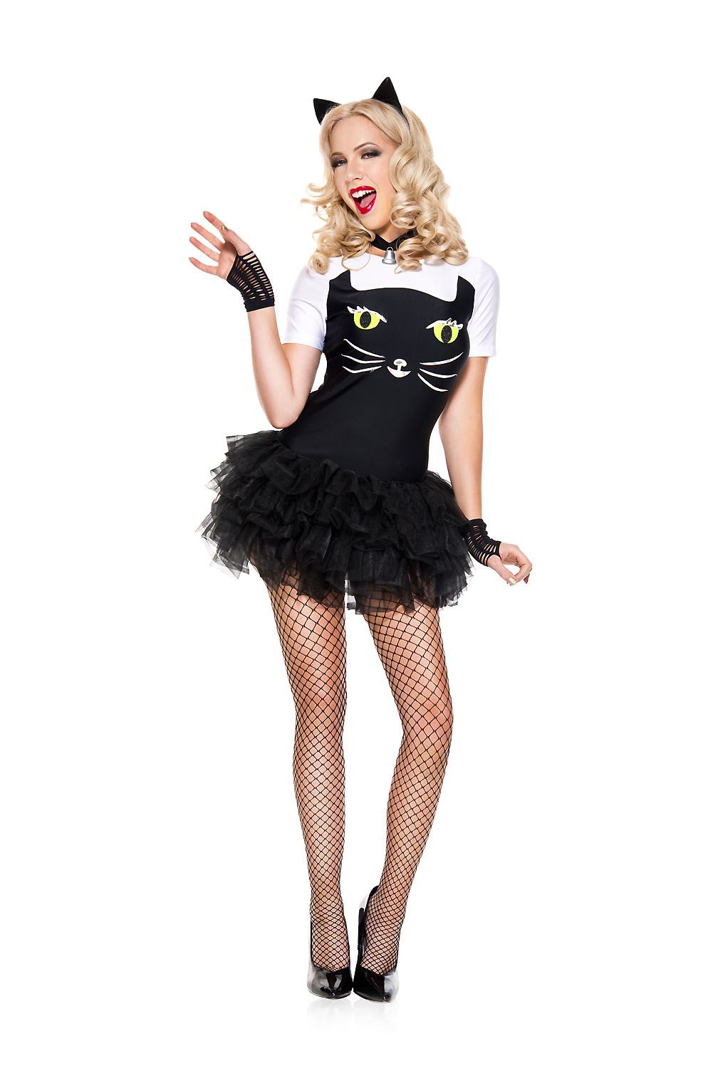 Adult Sassy Kitty Cat Woman Costume ...  sc 1 st  The Costume Land & Adult Sassy Kitty Cat Woman Costume   $31.99   The Costume Land