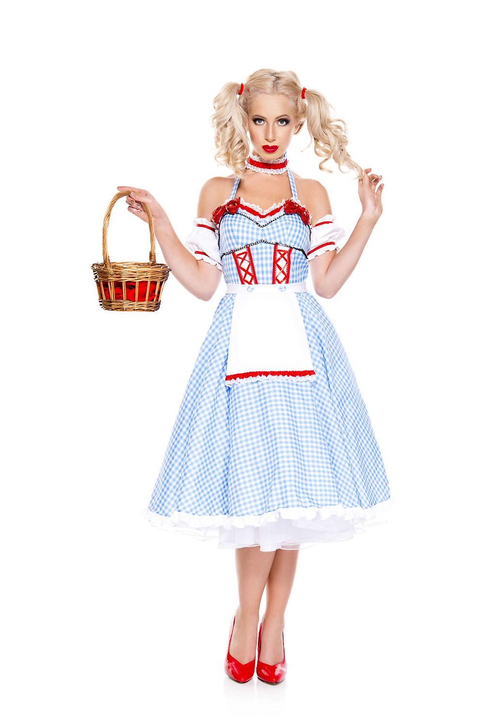 Adult Dorothy Doll Woman Costume ...  sc 1 st  The Costume Land & Adult Dorothy Doll Woman Costume | $46.99 | The Costume Land
