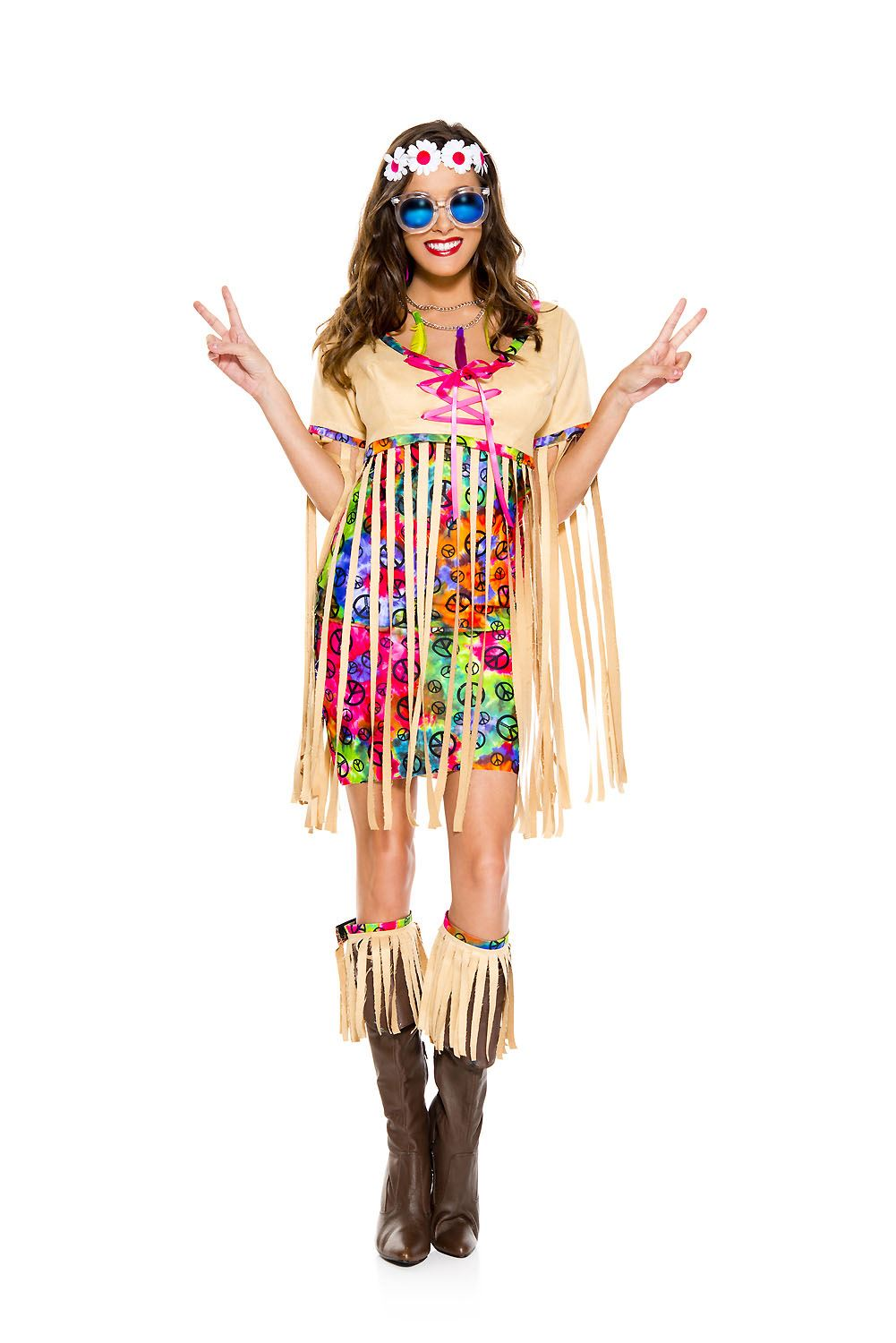 Adult Retro Hipster Woman Costume ...  sc 1 st  The Costume Land & Adult Retro Hipster Woman Costume | $57.99 | The Costume Land