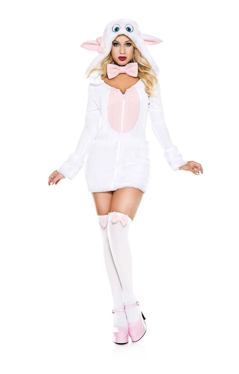 Adult Adorable Sheep Woman Costume ...  sc 1 st  The Costume Land & Adult Adorable Sheep Woman Costume | $41.99 | The Costume Land