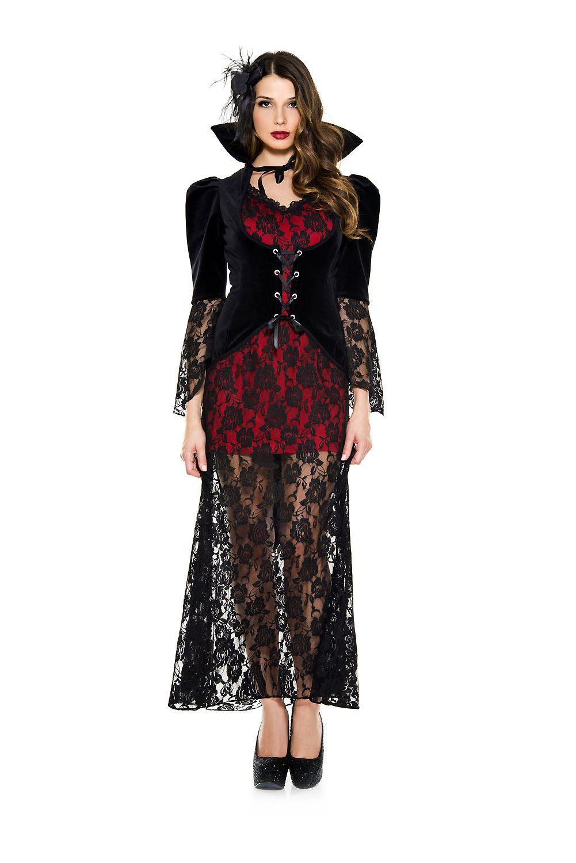 Adult Black Widow V&ire Woman Costume ...  sc 1 st  The Costume Land & Adult Black Widow Vampire Woman Costume | $43.99 | The Costume Land