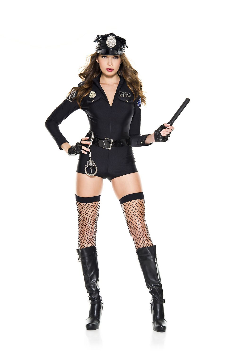 Sexy police officer girl-5631