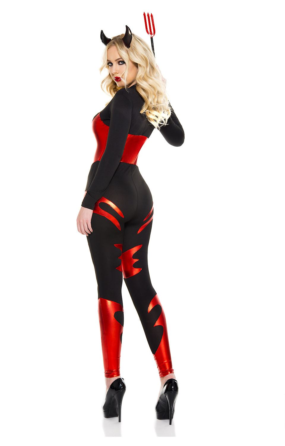 Adult Sizzling Devil Woman Costume 42 99 The Costume Land