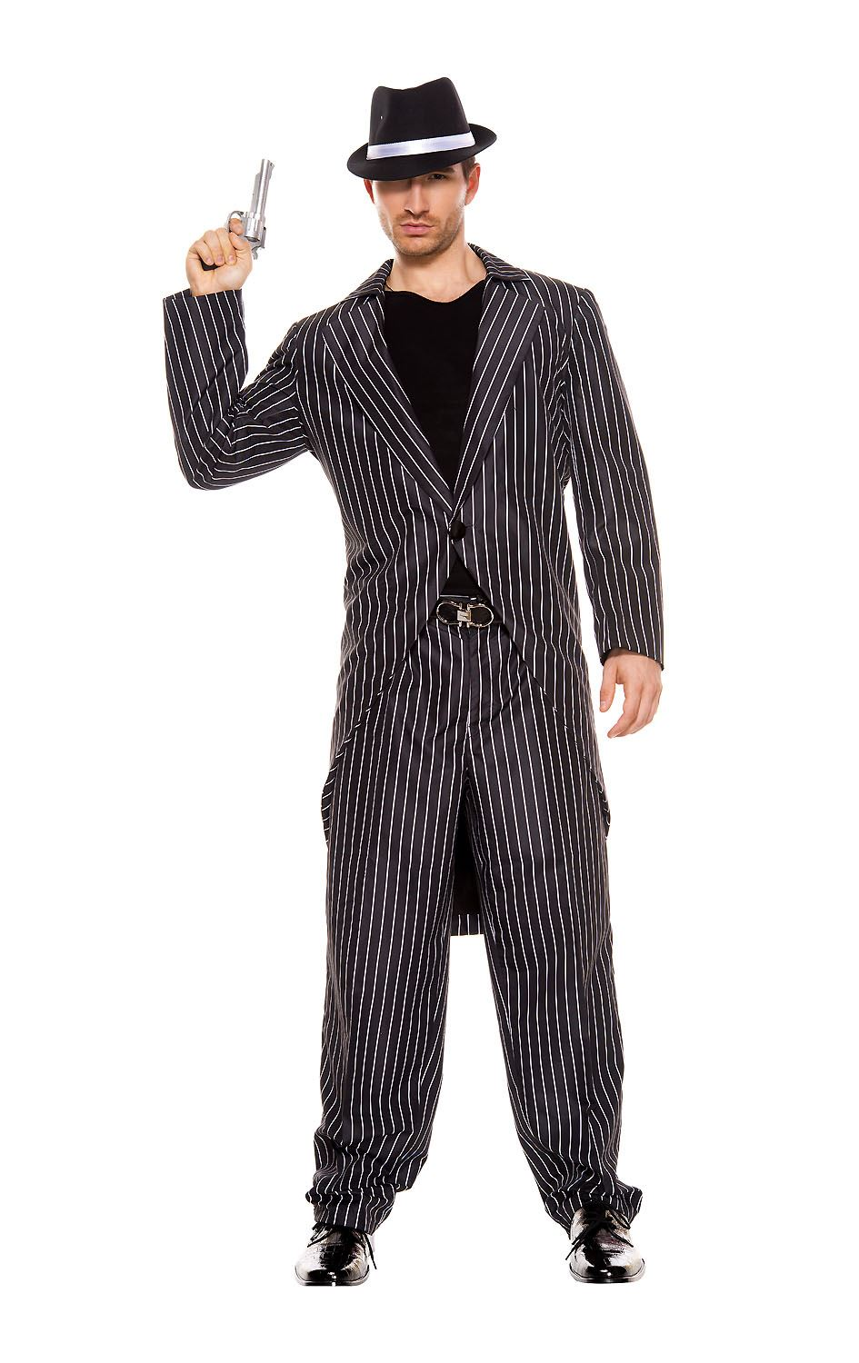 Adult Mafia Men Gangster Costume ...  sc 1 st  The Costume Land & Adult Mafia Men Gangster Costume | $34.99 | The Costume Land