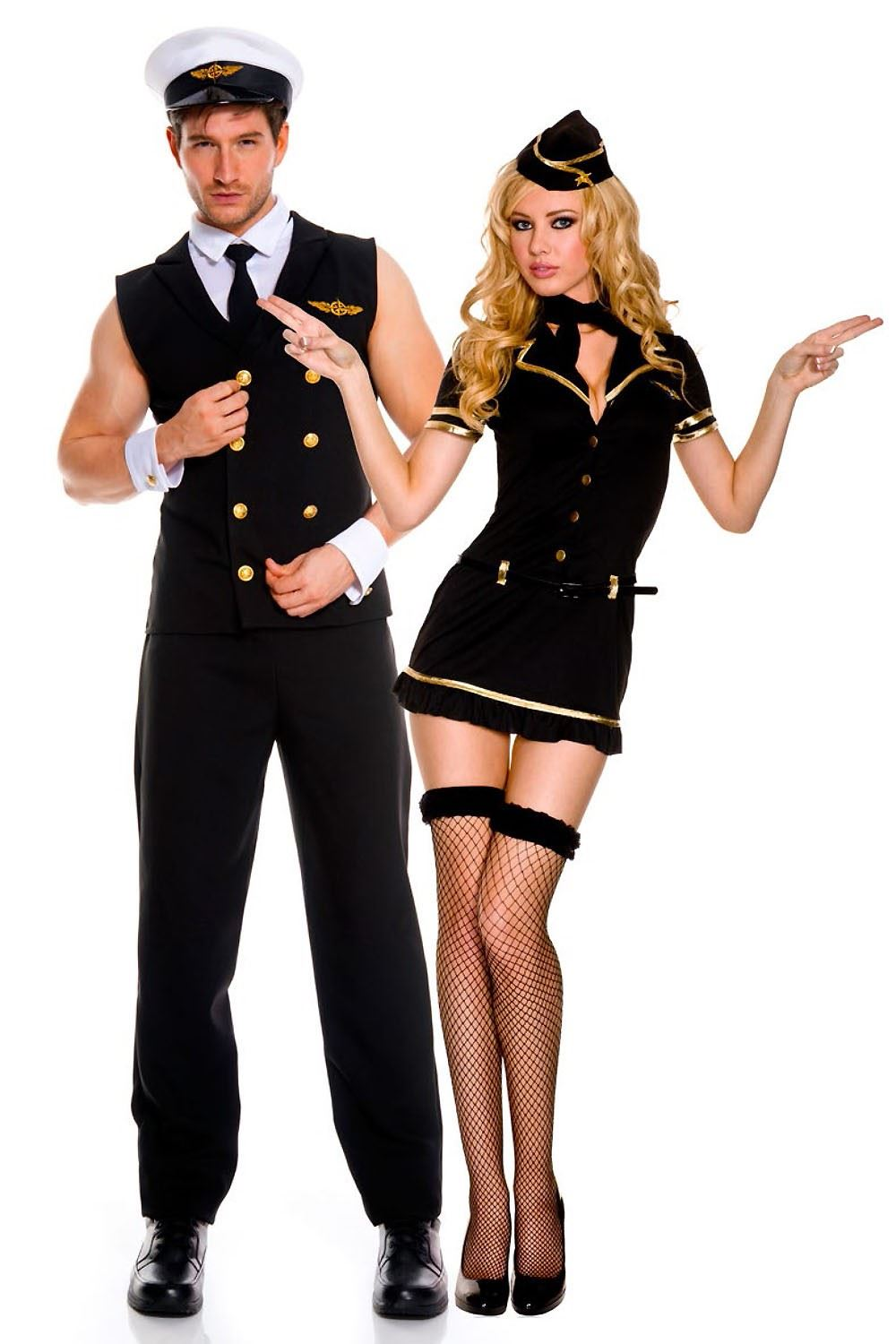 Airline Pilot Men Costume Black  sc 1 st  The Costume Land & Mens Halloween Costumes 2018 - The Costume Land