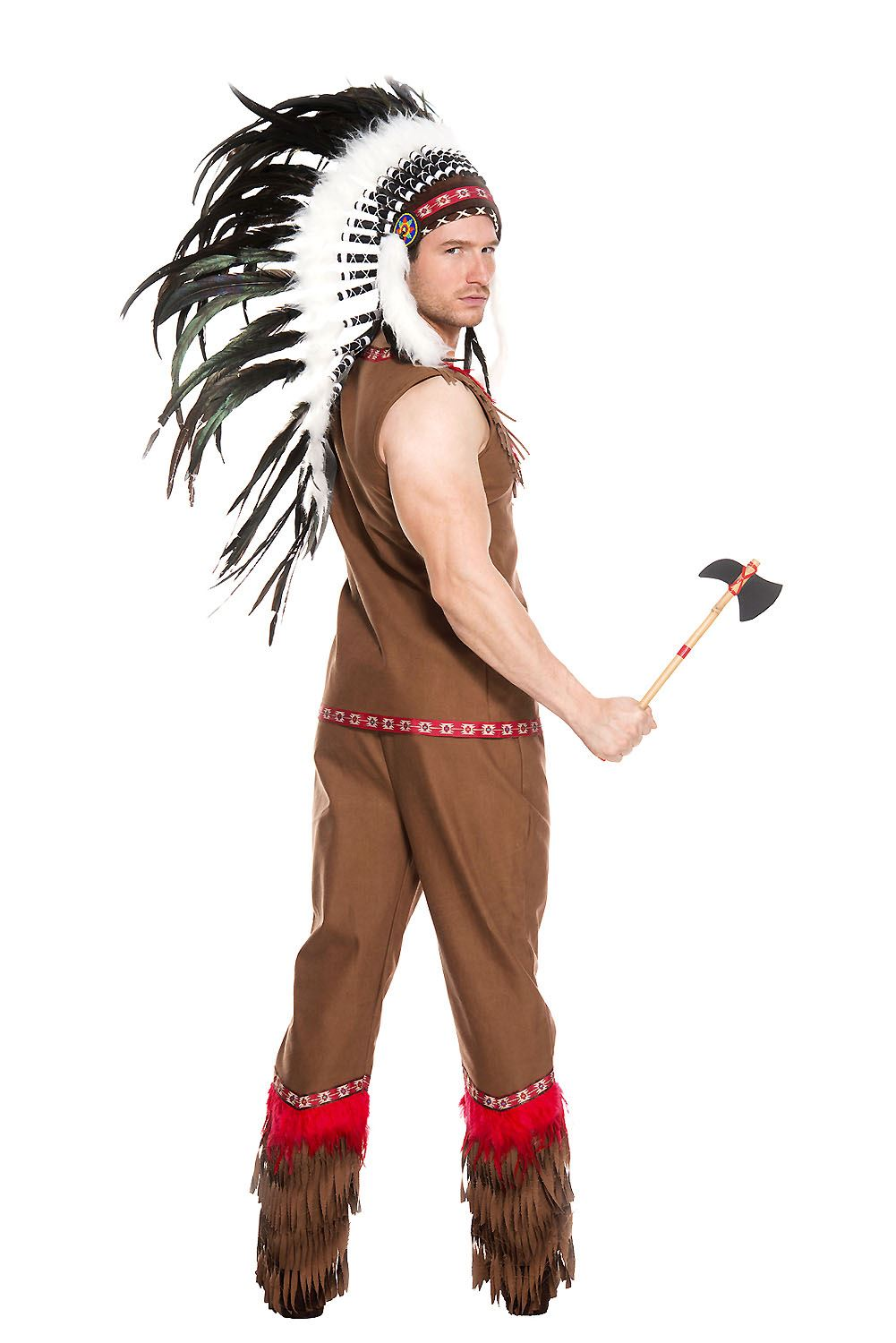Adult Indian Chief Men Costume Adult Indian Chief Men Costume  sc 1 st  The Costume Land & Adult Indian Chief Men Costume | $34.99 | The Costume Land