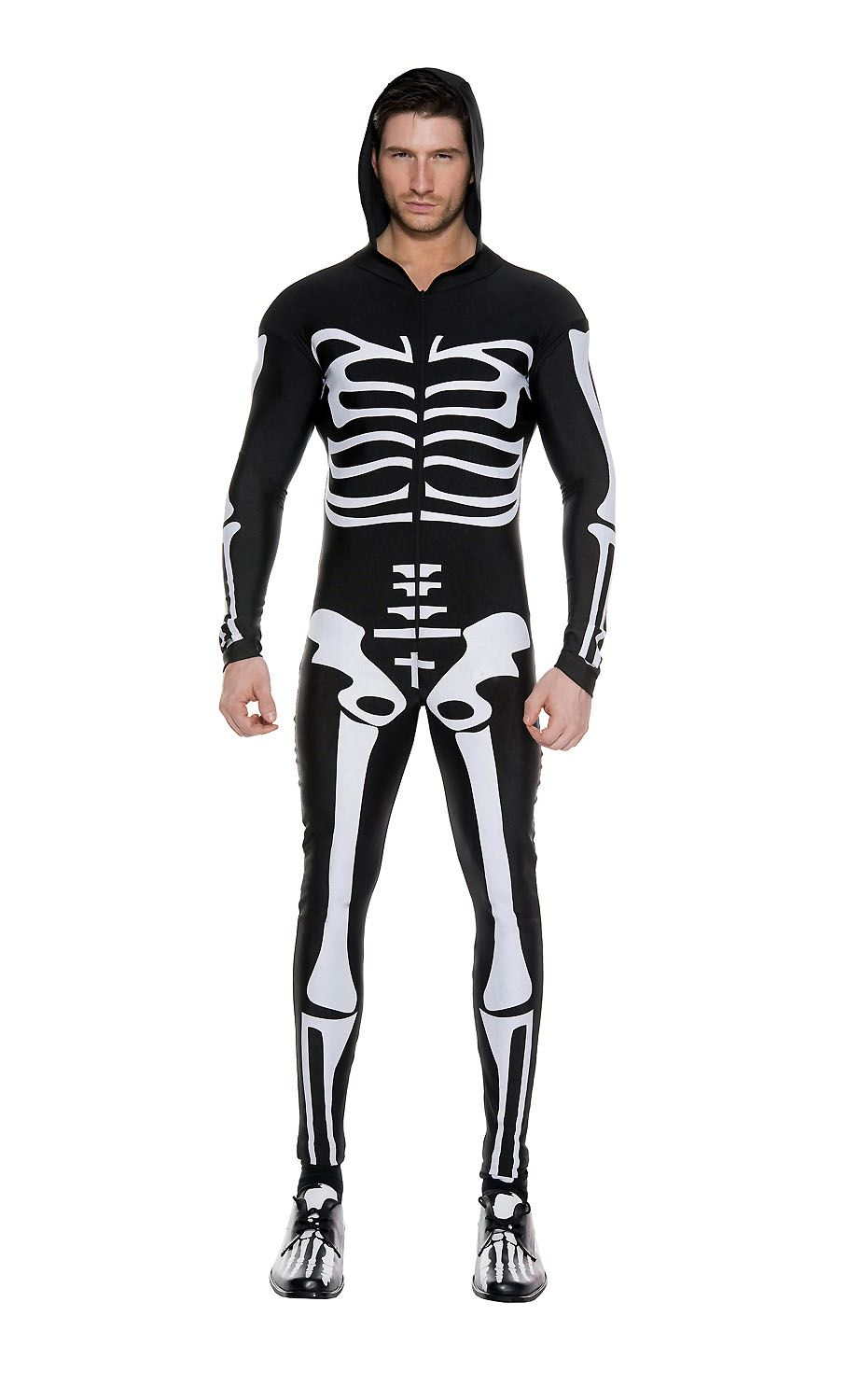 ... Adult Skeleton Bodysuit Men Costume. Click here to view Large Image