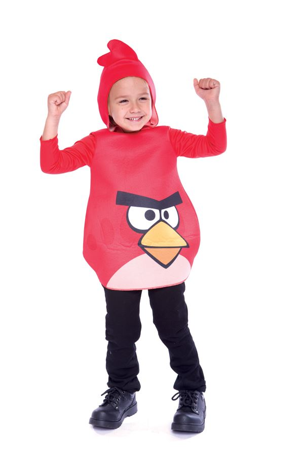 Kids Toddler Red Angry Bird Costume  sc 1 st  The Costume Land & Kids Toddler Red Angry Bird Costume | $22.99 | The Costume Land