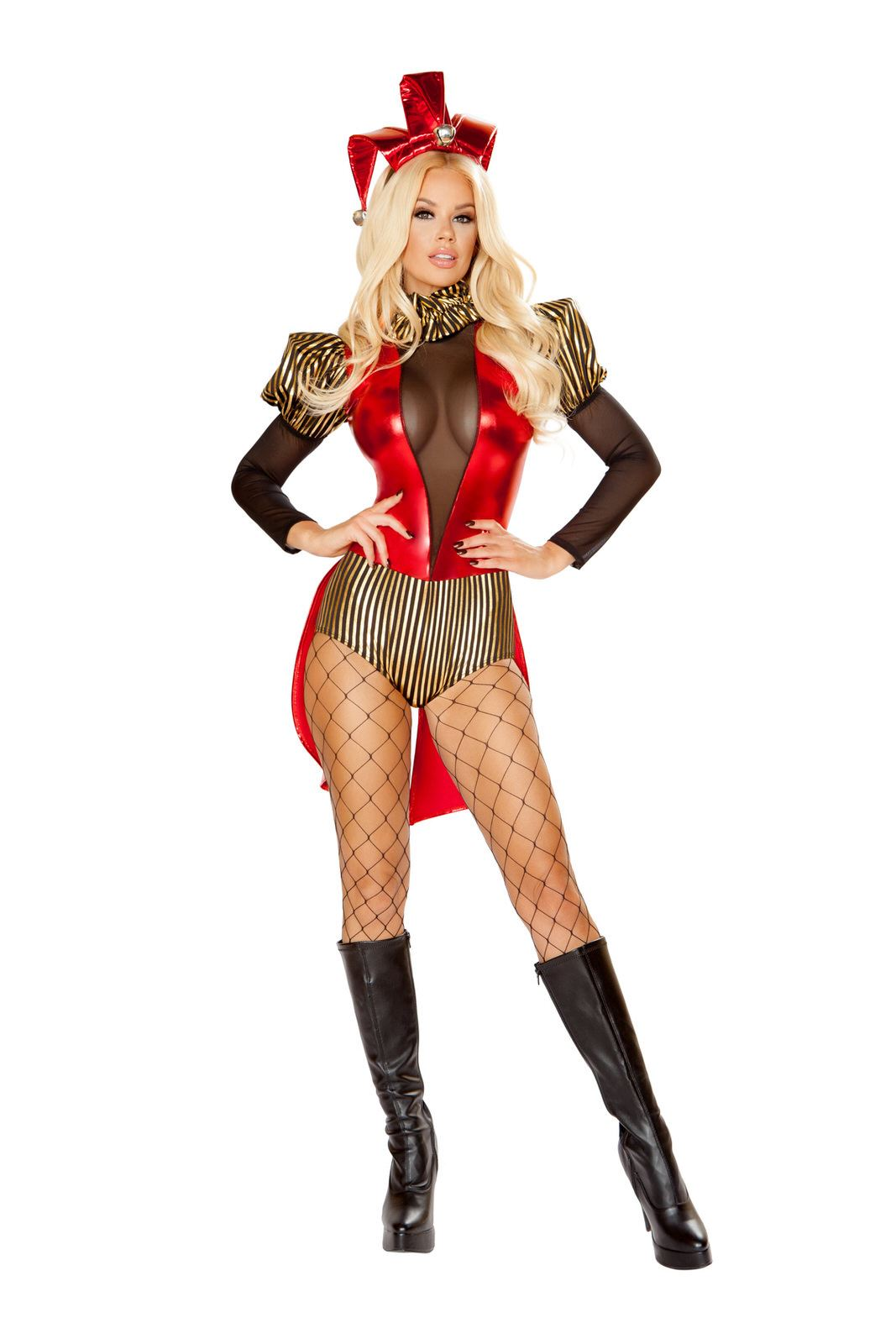 Adult Rascal Jester Woman Costume ...  sc 1 st  The Costume Land & Adult Rascal Jester Woman Costume | $60.99 | The Costume Land