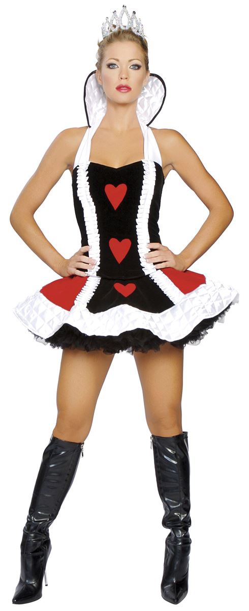 Queen Of Hearts Costumes For Women Adult Sexy Quee...