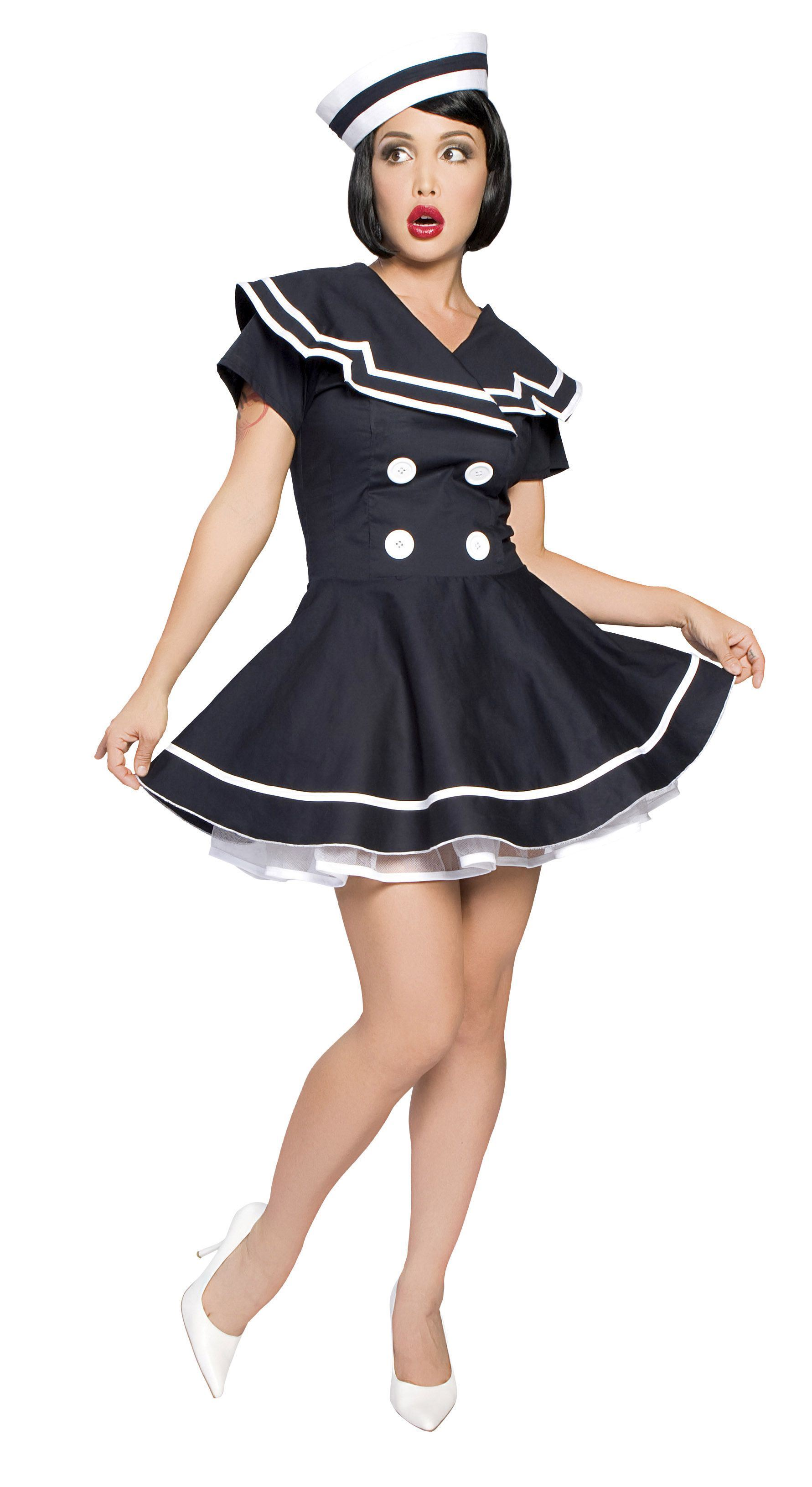 Lastest Adult Captains Choice Women Sailor Costume  5599  The Costume Land