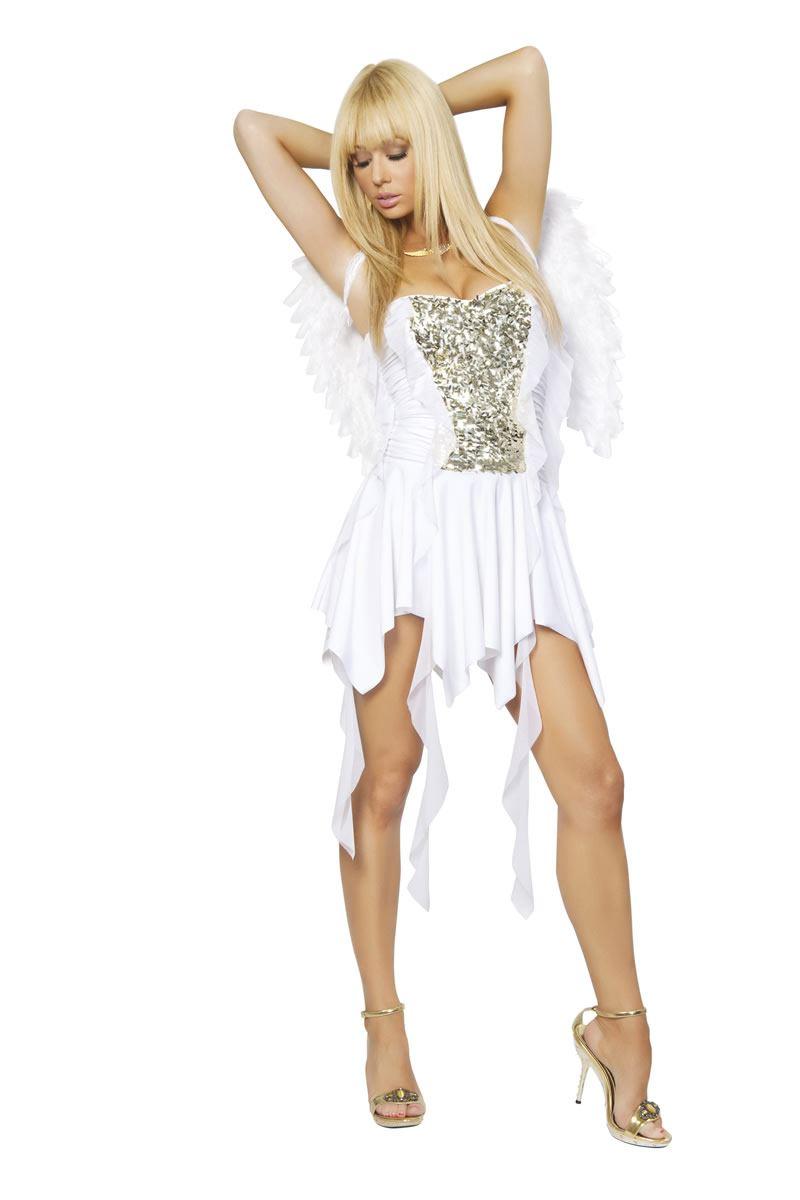 Adult Heavenly Hottie Women Angel Costume | $62.99 | The Costume Land