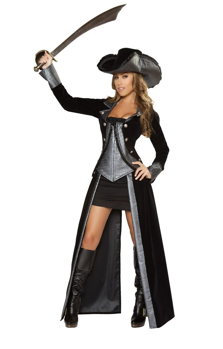 adult sexy pirate princess deluxe costume the costume land. Black Bedroom Furniture Sets. Home Design Ideas
