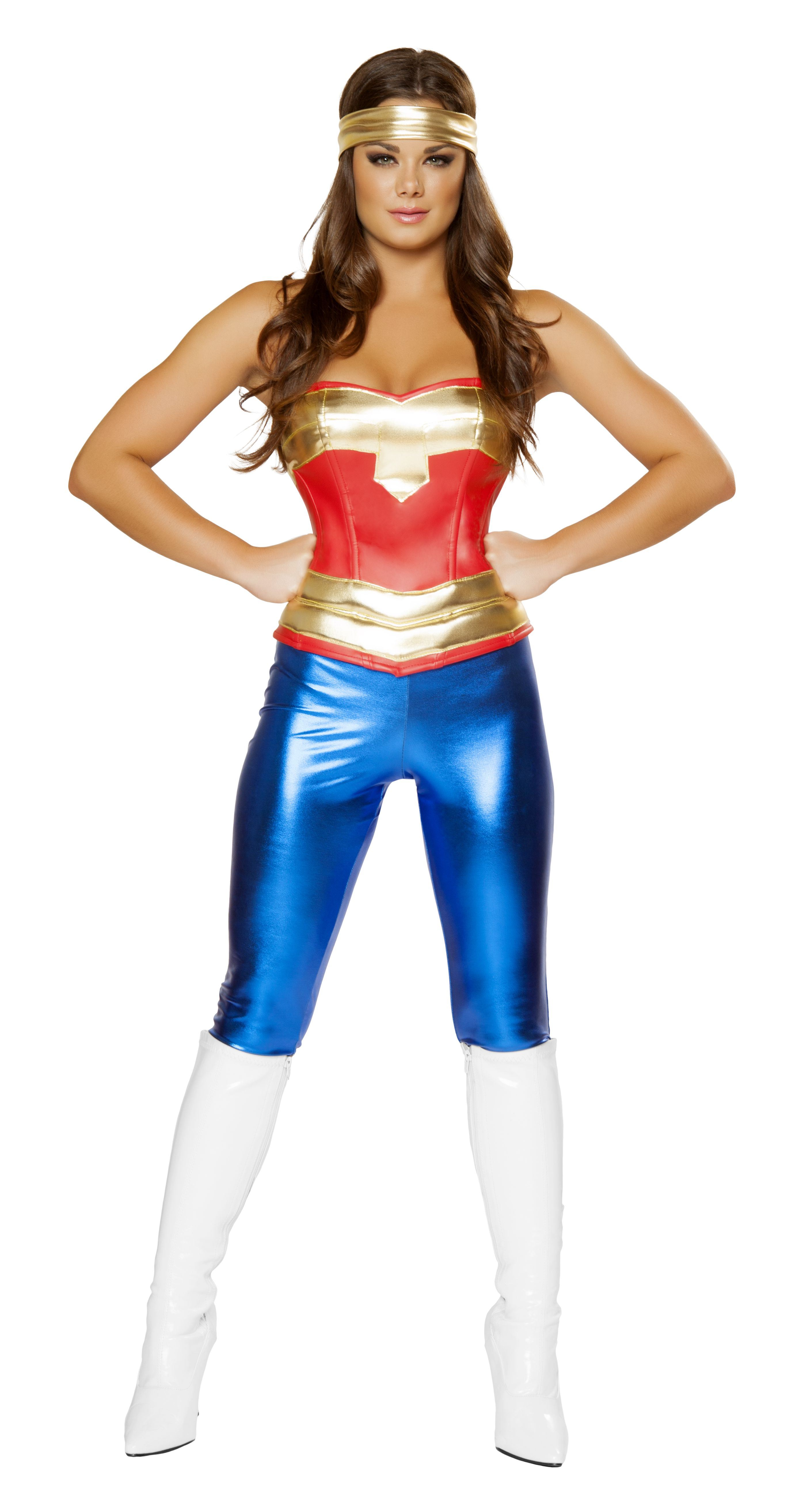 Adult Comic Cutie Woman Super Hero Costume 7599 The